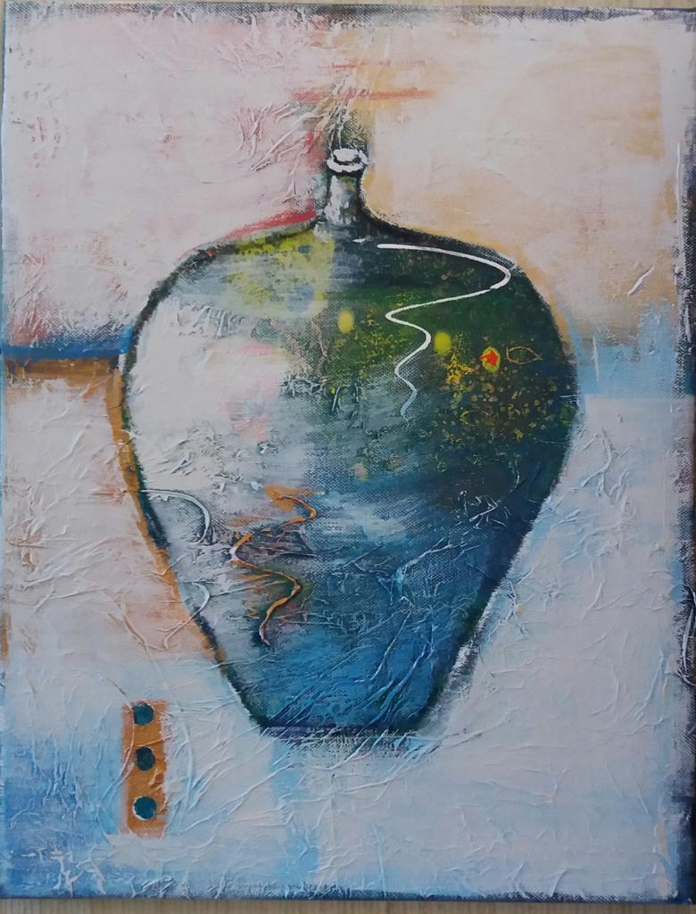 Ellen Eskildsen Abstract Art Vessel Series